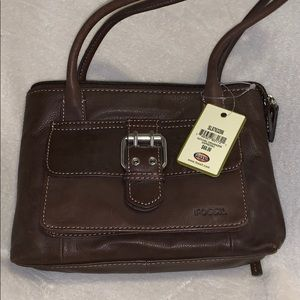 Fossil purse NWT brown leather